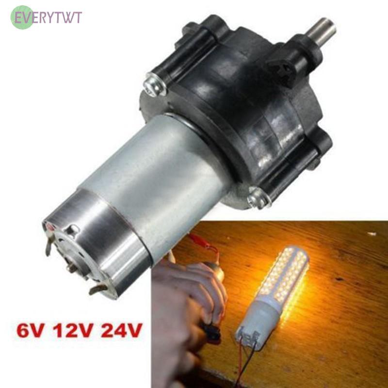Máy phát điện cầm tay DC 6V 12V 24V chuyên dụng