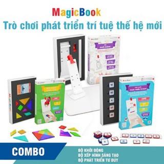 Magicbook – Combo L Box Bộ Vẽ Hình + Bộ Xếp Hình + Bộ Tư Duy