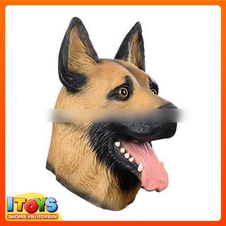 Mặt nạ đầu Chó – mặt nạ hóa trang thành Chó – Đồ hóa trang chó ITOYS – [ DVHT5 ] mã sản phẩm OO9862