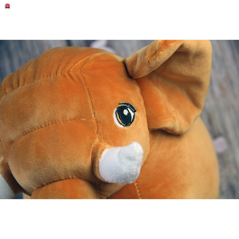 [HOT]Gấu bông Oenpe Voi màu cam ngộ nghĩnh, chất liệu bông cao cấp