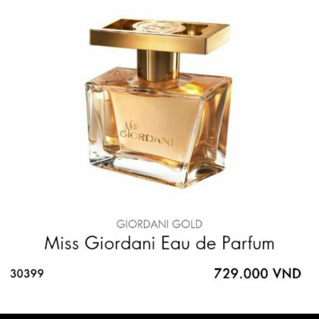 Nước hoa nữ MISS GG by oriflam