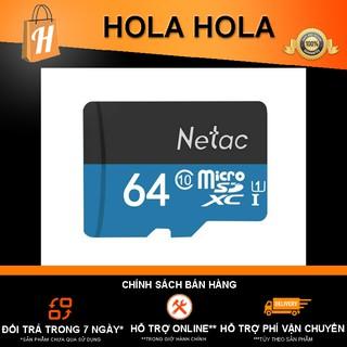 [Mã ELFLASH5 giảm 20K đơn 50K] Thẻ nhớ Netac 64Gb Class 10 chuyên camera BẢO HÀNH 12 THÁNG
