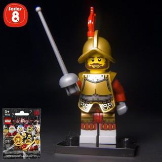 [Chính hãng, New] Nhân Vật LEGO Minifigures Chinh Tướng Conquistador 8833 Series 8
