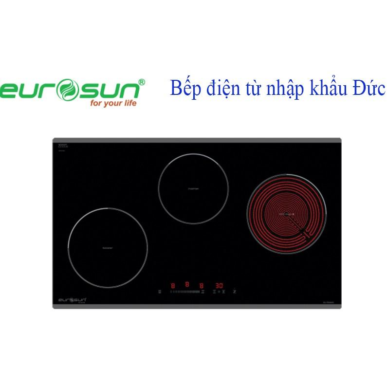 Bếp điện từ 3 lò EUROSUN EU TE882G nhập khẩu Đức