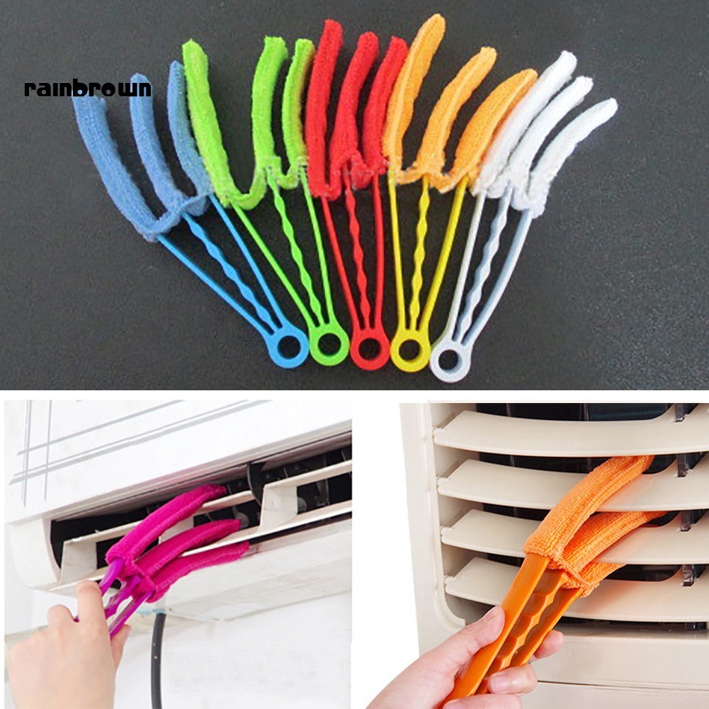 RB_Window Blind Shutters Detachable Soft Cleaning Clip Washable Brush Dust Remover
