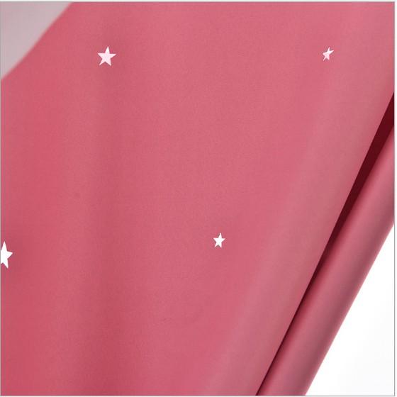 [SIÊU SALE 1 NGÀY] Rèm cửa sổ, rèm cửa dán tường 2 lớp, rèm cửa chống nắng dán tường (hình ngôi sao M1).