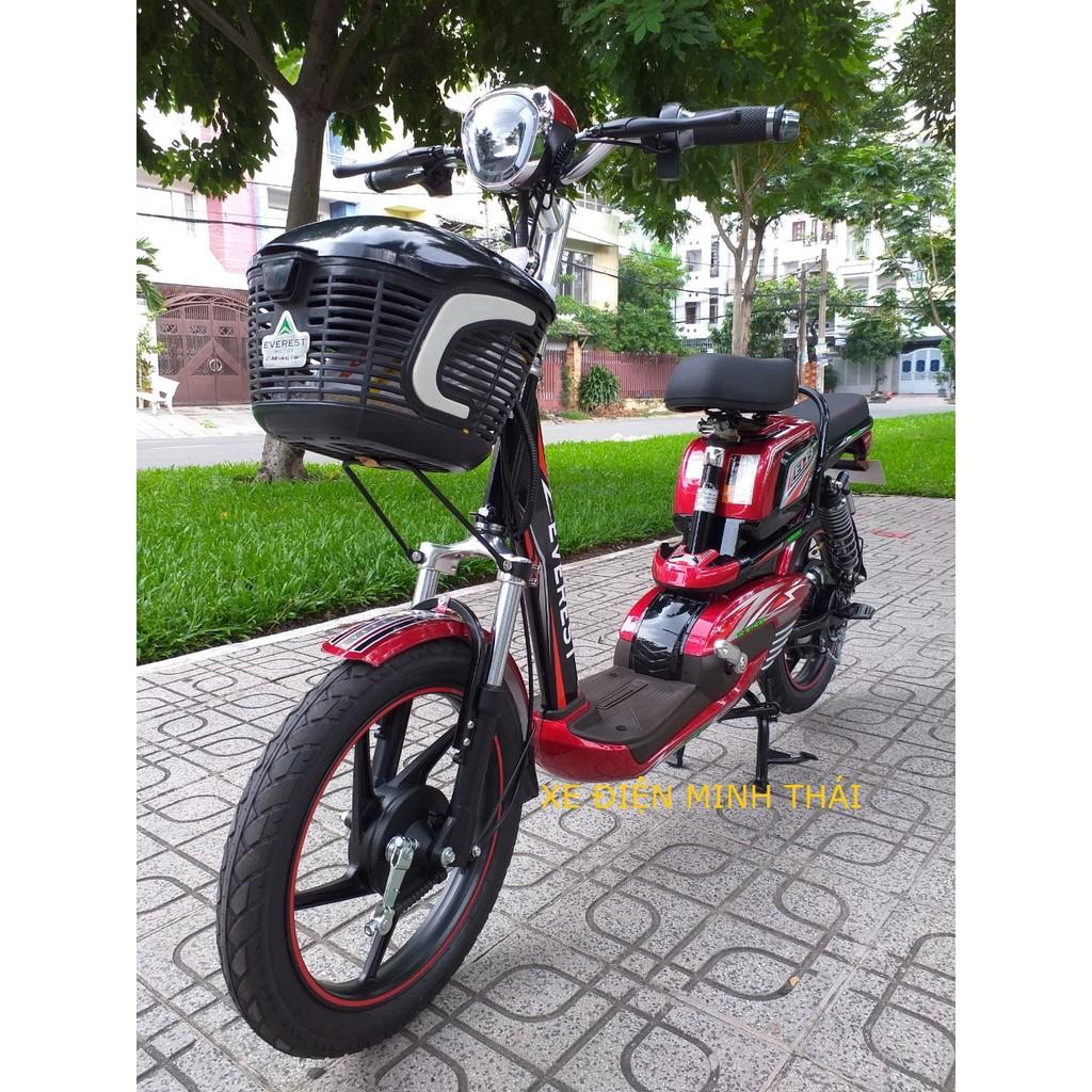 xe đạp điện hiệu everest mẫu EM9 giá tốt- xe điện everest- xe máy điện everest mẫu mới