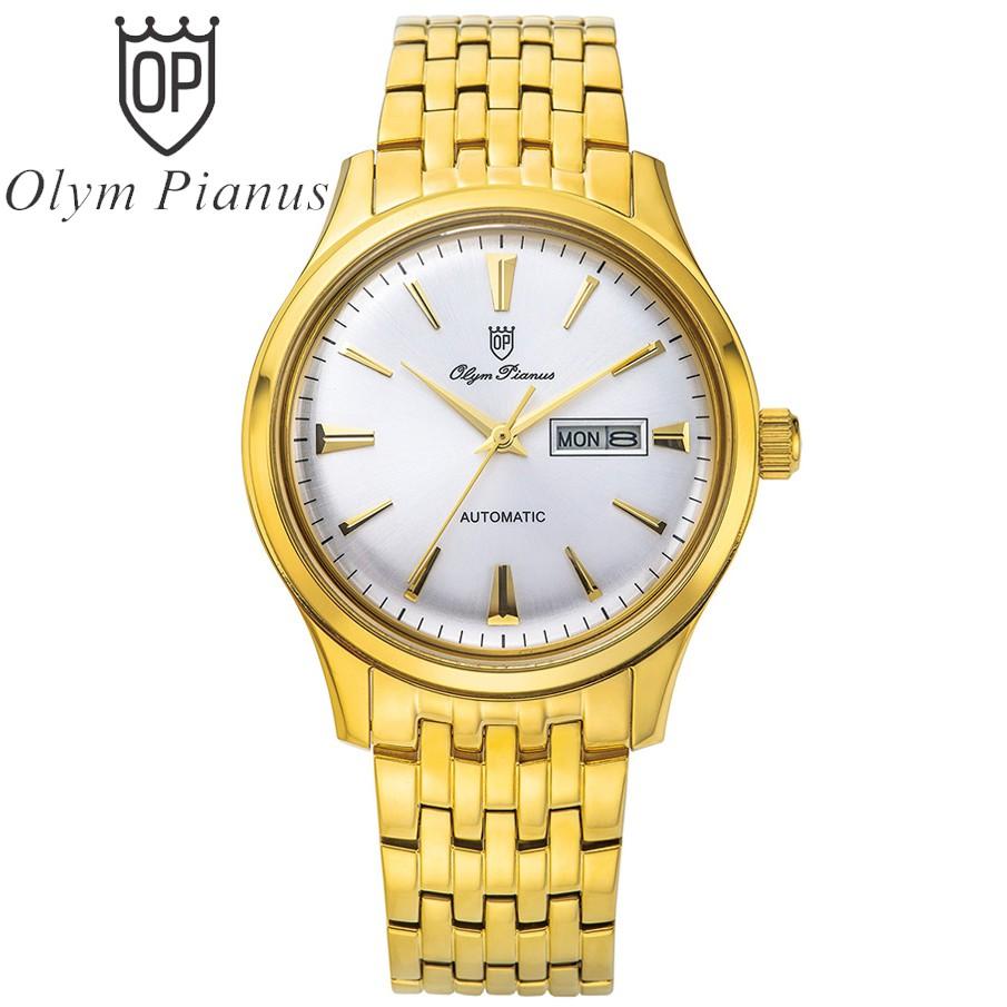 Đồng hồ nam dây kim loại automatic Olym Pianus OP990-141AMK-T - 3535276 , 822402697 , 322_822402697 , 7250000 , Dong-ho-nam-day-kim-loai-automatic-Olym-Pianus-OP990-141AMK-T-322_822402697 , shopee.vn , Đồng hồ nam dây kim loại automatic Olym Pianus OP990-141AMK-T
