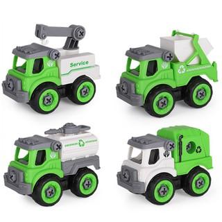 Xe đồ chơi mô hình ô tô tháo lắp dễ dàng hiệu Híp s Toys MODEL 996D bằng nhựa 1