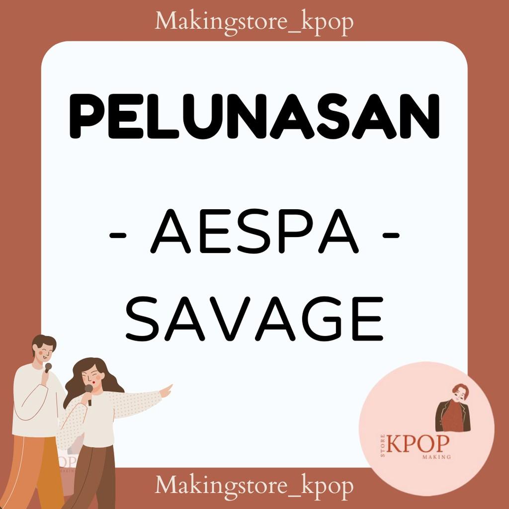 Album ảnh Mini Aespa 1st kèm Poster