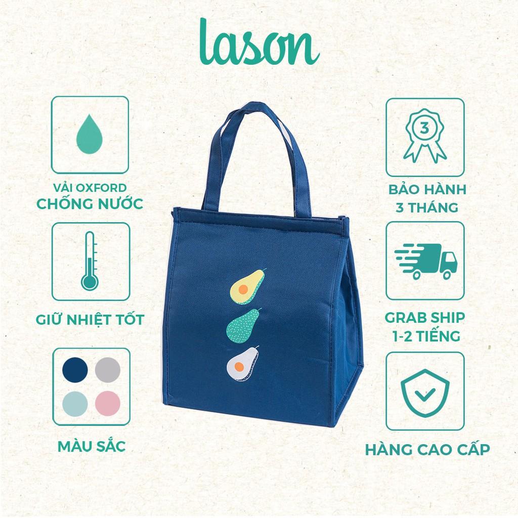 Túi đựng hộp cơm giữ nhiệt Fruity cao cấp LASON