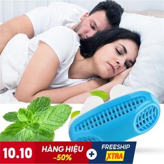Dụng cụ hỗ trợ chống ngủ ngáy và lọc khí 2 in 1 chính hãng