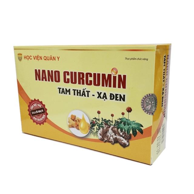 Nano curcumin Tam thất xạ đen, sản phẩm Học viện Quân y