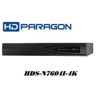 Đầu ghi camera IP 4 kênh HDPARAGON HDS-N7604I-4K & HDS-N7604I-4K P thumbnail