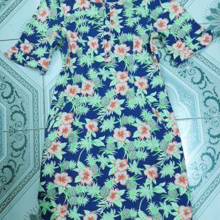 Đầm hoa công sở