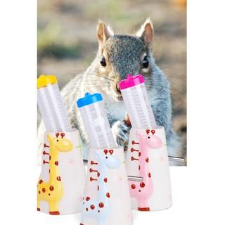 Đế đựng bình nước bằng sứ in hình cho hamster, thỏ, sóc thumbnail