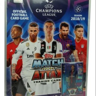 Album thẻ Poca Match Attax 18/19