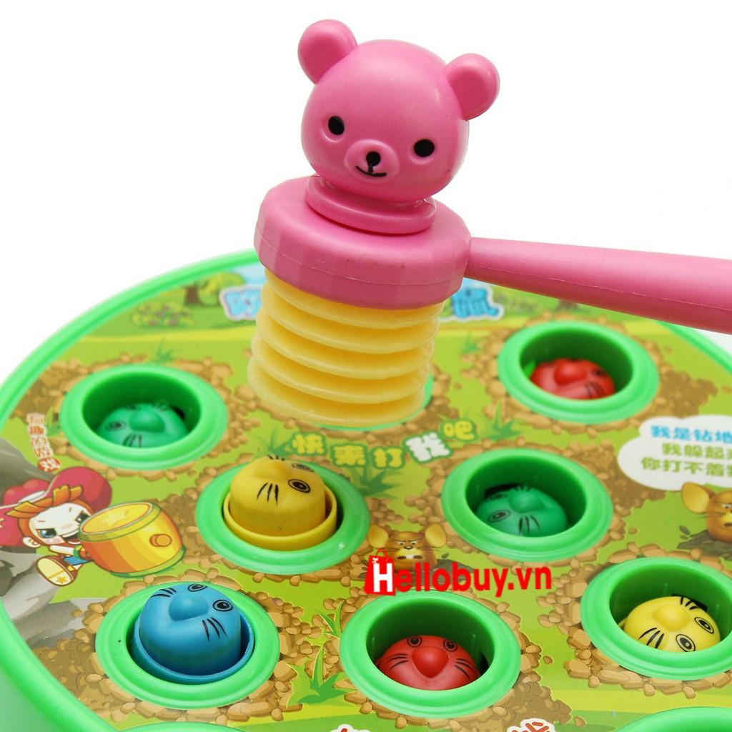 Bộ đồ chơi đập chuột phát nhạc cho bé vui nhộn - 2895313 , 1253218561 , 322_1253218561 , 99000 , Bo-do-choi-dap-chuot-phat-nhac-cho-be-vui-nhon-322_1253218561 , shopee.vn , Bộ đồ chơi đập chuột phát nhạc cho bé vui nhộn