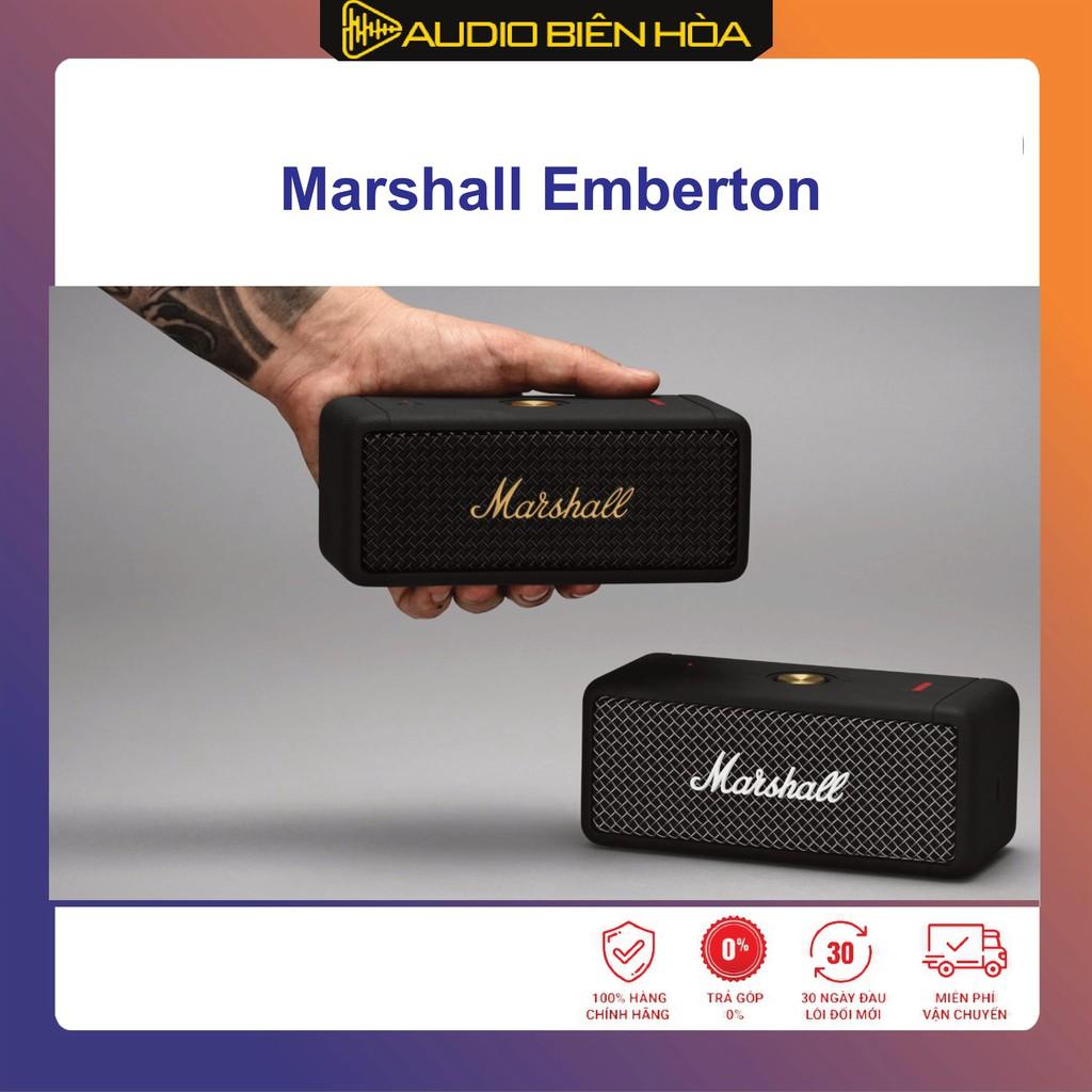 [Mã ELMSDAY giảm 6% đơn 2TR] Loa Marshall Emberton - Hàng Mới Nguyên Hộp - Cam kết chính hãng