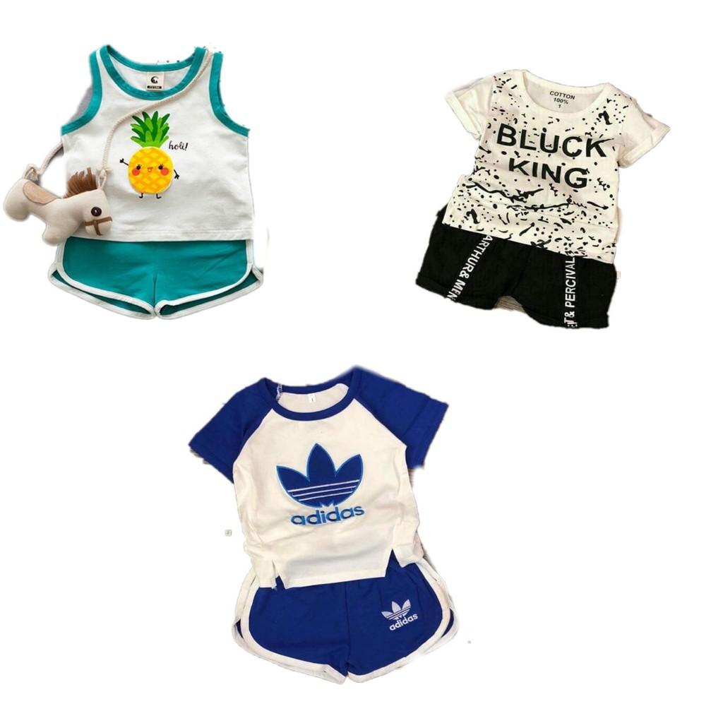 Combo 3 bộ quần áo cộc tay cho bé trai 7-17kg - 2640676 , 966811293 , 322_966811293 , 180000 , Combo-3-bo-quan-ao-coc-tay-cho-be-trai-7-17kg-322_966811293 , shopee.vn , Combo 3 bộ quần áo cộc tay cho bé trai 7-17kg