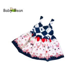 Đầm Lụa Bản Dây thời trang Hè bé gái BabyBean (20kg - 35kg) thumbnail