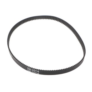 Wond Closed Loop Rubber GT2 Timing Belt 200 280 400 610 852mm 2GT 6mm For 3D Printers Parts