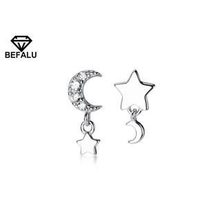 Khuyên Tai Nữ Bạc 925 Hình Ngôi Sao BEFALU - BT01