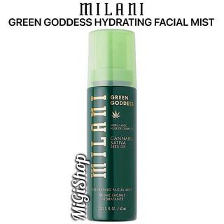 [Hàng Mỹ] Xịt Khoáng Trang Điểm Milani Green Goddess Hydrating Facial Mist 60ml