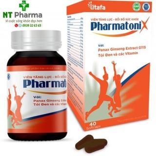 Pharmatoni X – Viên uống tăng cường sinh lực, bồi bổ sức khoẻ