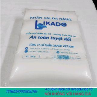 Khăn vải đa năng Likado 500g dạng cuộn