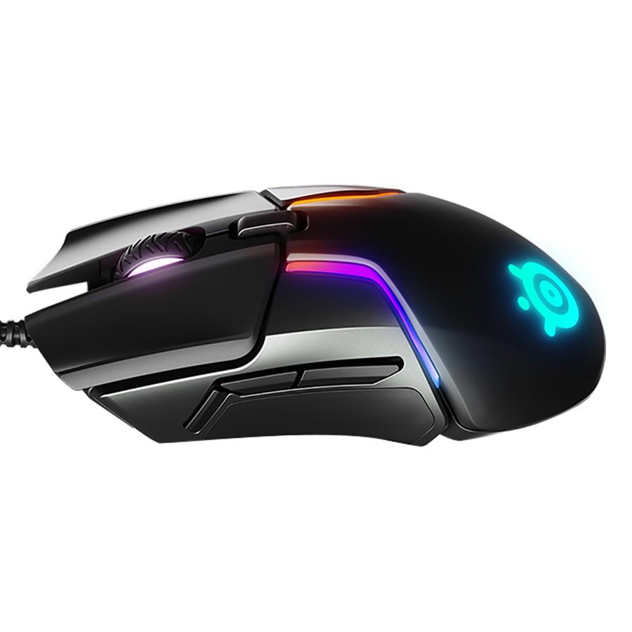 [Mã SKAMPUSHA7 giảm 8% đơn 250k]Chuột Gaming Có Dây SteelSeries Rival 600 12000DPI RGB 7 Phím - Hàng Chính Hãng