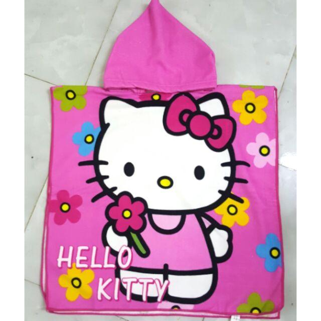 Khăn tắm có mũ, khăn choàng cho bé đi bơi đi biển mèo kitty - 2748926 , 317208412 , 322_317208412 , 85000 , Khan-tam-co-mu-khan-choang-cho-be-di-boi-di-bien-meo-kitty-322_317208412 , shopee.vn , Khăn tắm có mũ, khăn choàng cho bé đi bơi đi biển mèo kitty