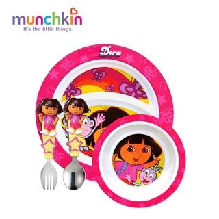 Bộ bát đĩa Dora Munchkin