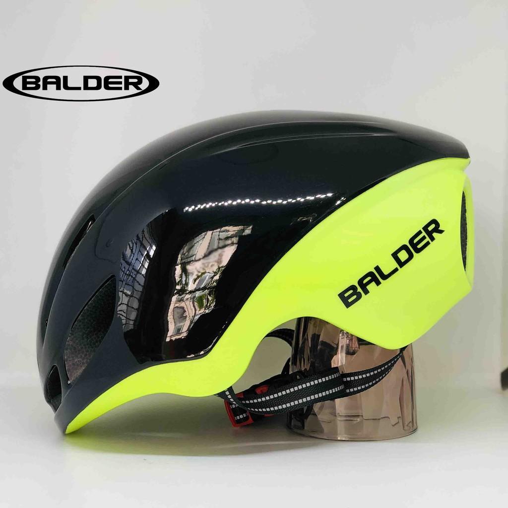 Mũ xe đạp thể thao BALDER B79 cao cấp ĐEN LÁ