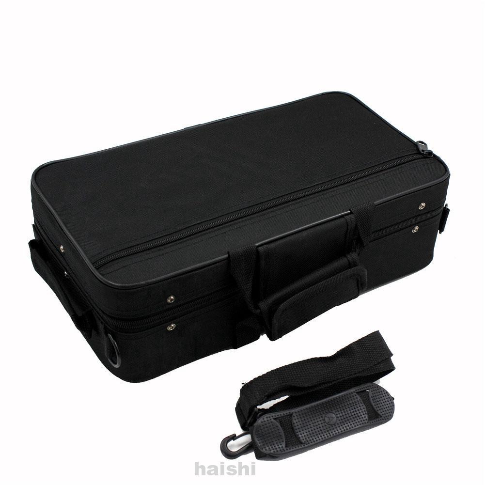 Musicians Messenger Rainproof Lightweight Handle Protective Accessories Square Portable Clarinet Storage Case