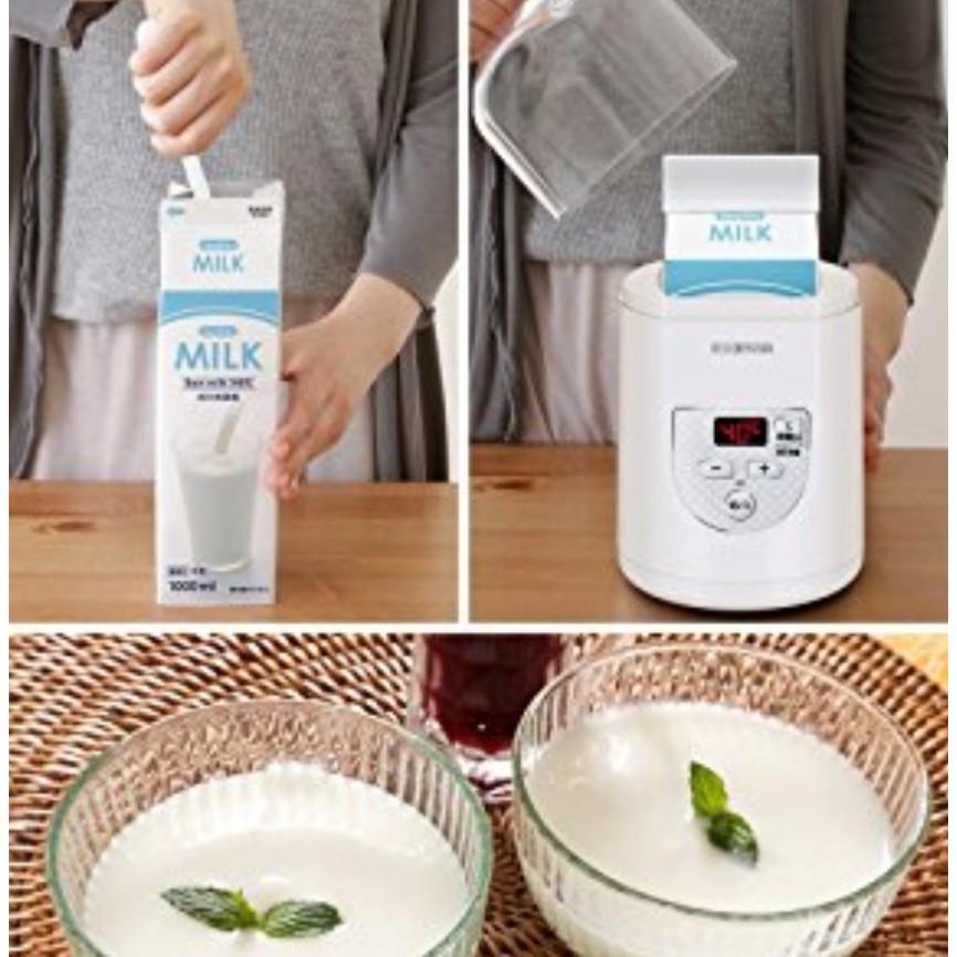 Máy làm sữa chua Iris Ohyama IYM-012 bản Premium - 3554951 , 1298720442 , 322_1298720442 , 950000 , May-lam-sua-chua-Iris-Ohyama-IYM-012-ban-Premium-322_1298720442 , shopee.vn , Máy làm sữa chua Iris Ohyama IYM-012 bản Premium