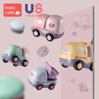 Set 4 ô tô đồ chơi Babycare Us cao cấp