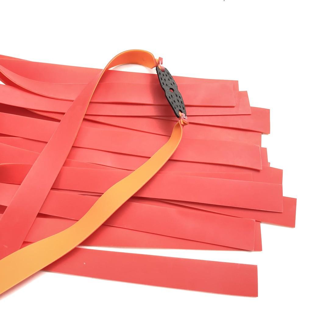 Bộ 5 dây thun cao su dây dẹt 2 lớp (Màu ngẫu nhiên)