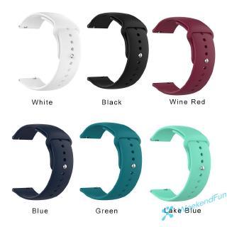 Dây Đeo Thay Thế Bằng Silicone Mềm 18mm Cho Đồng Hồ Thông Minh Ticwatch C2