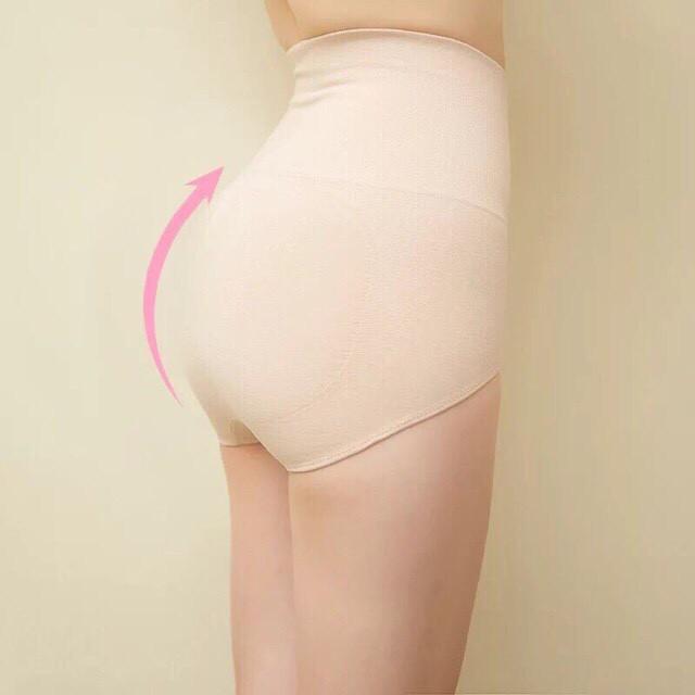 Quần lót nữ😍Freeship 99k👙Quần con cạp cao gen bụng nâng mông kháng khuẩn hàng xuất Nhật