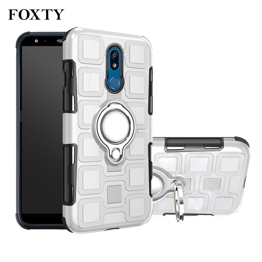 Phone Case Hybrid Protective Cover With Magnetic Car Mount 360 Degree Classic