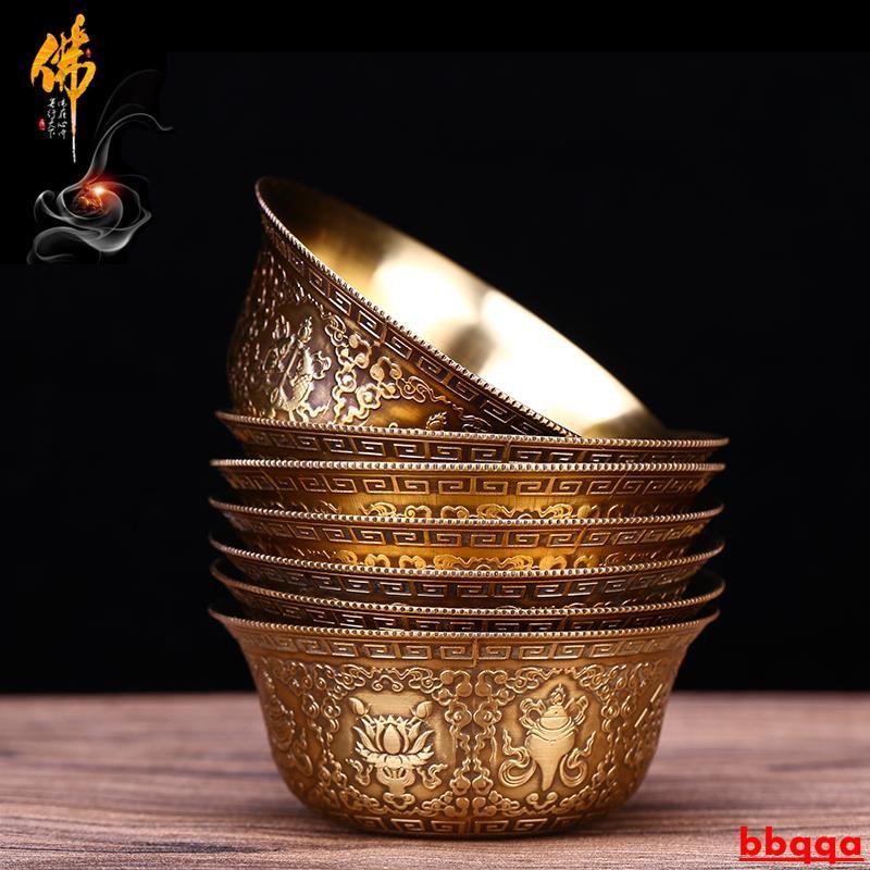 (hàng Có Sẵn) Nhẫn Đồng Mạ Vàng Khắc Hoa Văn Phật Giáo Tây Tạng