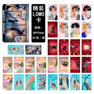 Lomo Card BTS (Đủ thành viên) Sale off WCMD