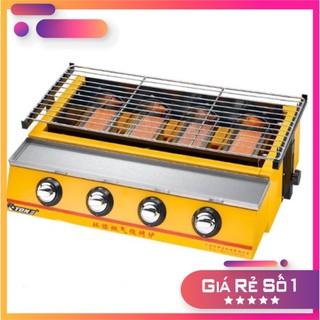 [ Hàng ETON Chính Hãng ] - Bếp Nướng BBQ 4 Họng Gas ET-K222