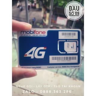 [Đầu 09] Sim 4g mobifone C120