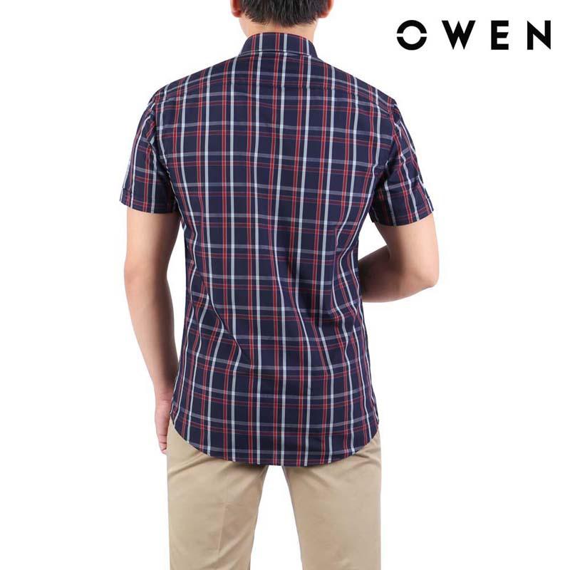 Áo sơ mi ngắn tay nam Owen Regularfit - AR22691NT
