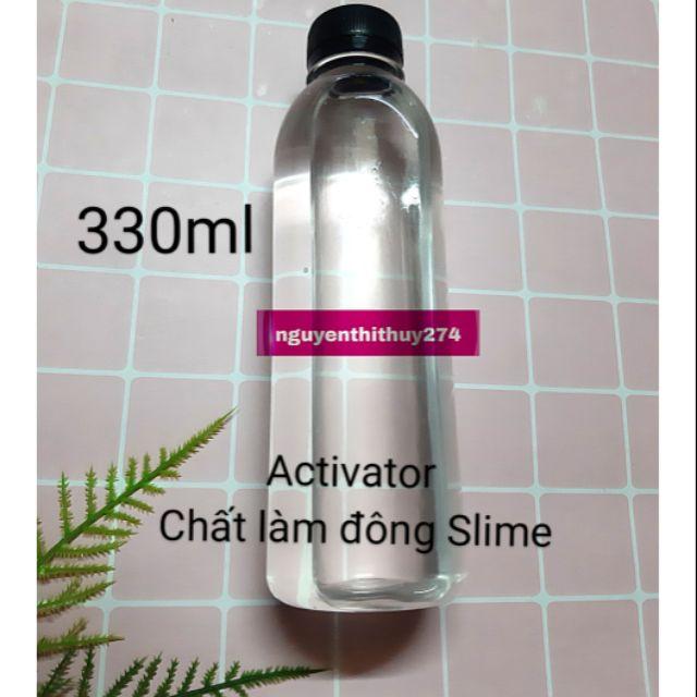 Activator – Dung Dịch làm đông Slime đóng chai 330ml
