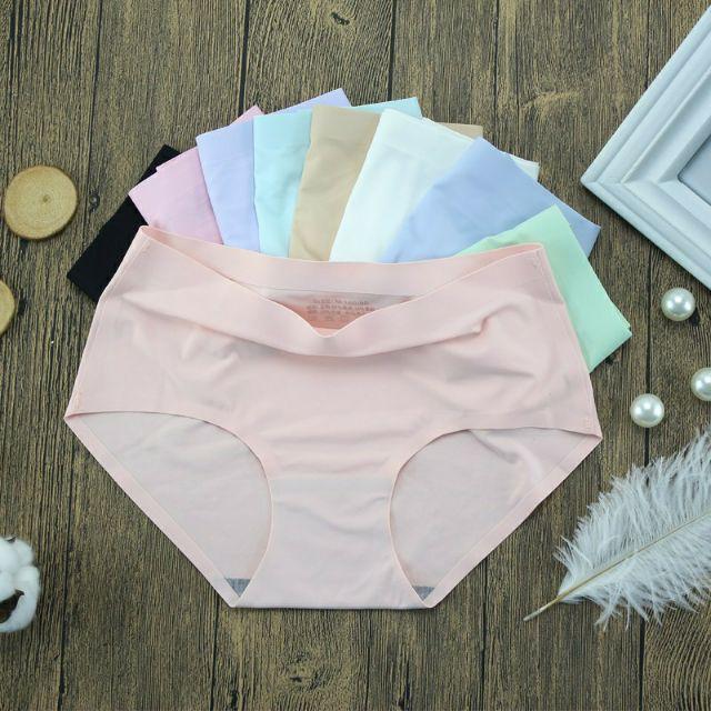 Quần lót xu đúc gấm chất đẹp không đường may combo 10 quần đẹp