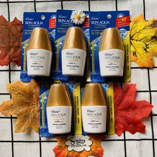 Combo 5 kem chống nắng Sunplay Skin Aqua Clear White 5g