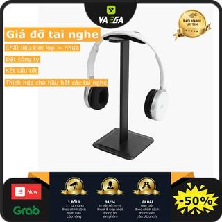 Headphone Stand - Giá treo kiêm giá đỡ tai nghe thân nhôm Chân đế hình vuông chắc chắn thumbnail